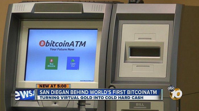 first bitcoin atm