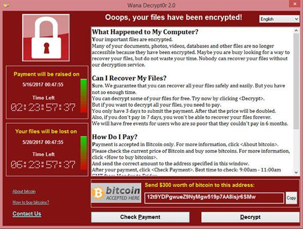 ransomware bitcoin cash